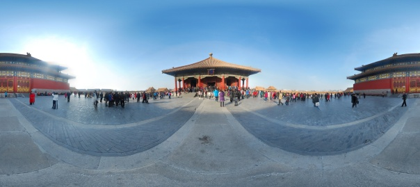 Panorama: Behind Tian'an'men Gate