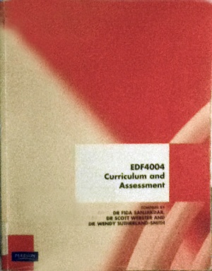 EDF4004: Curriculum and Assessment