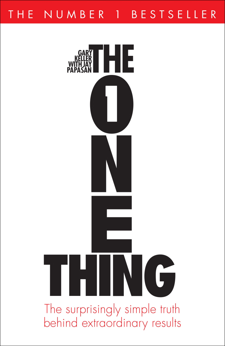 Simple Book Cover Reviews ~ Book the one thing surprisingly simple truth behind