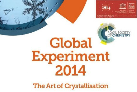 RSC Global Experiment 2014 Art of Crystallography