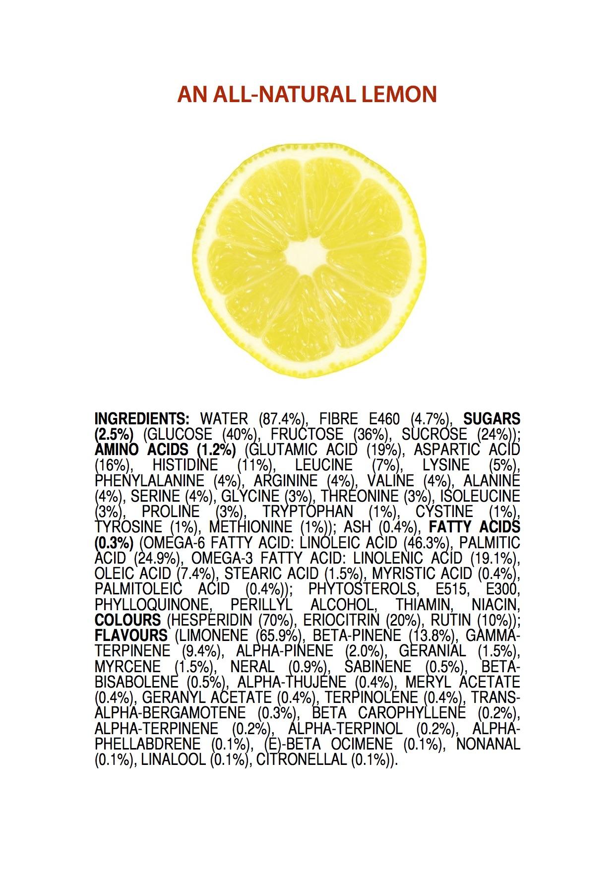 All Natural Princess Play Makeup Kit: Ingredients Of An All-Natural Lemon