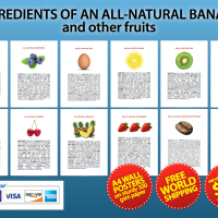 All-Natural Banana Poster Series PDFs