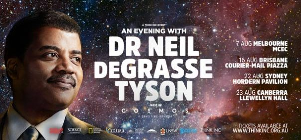 An Evening with Dr Neil deGrasse Tyson in Melbourne August 7th 2015