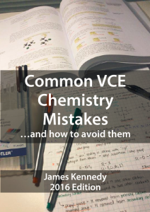 Click to download the free book: Common VCE Chemistry Mistakes and How to Avoid Them
