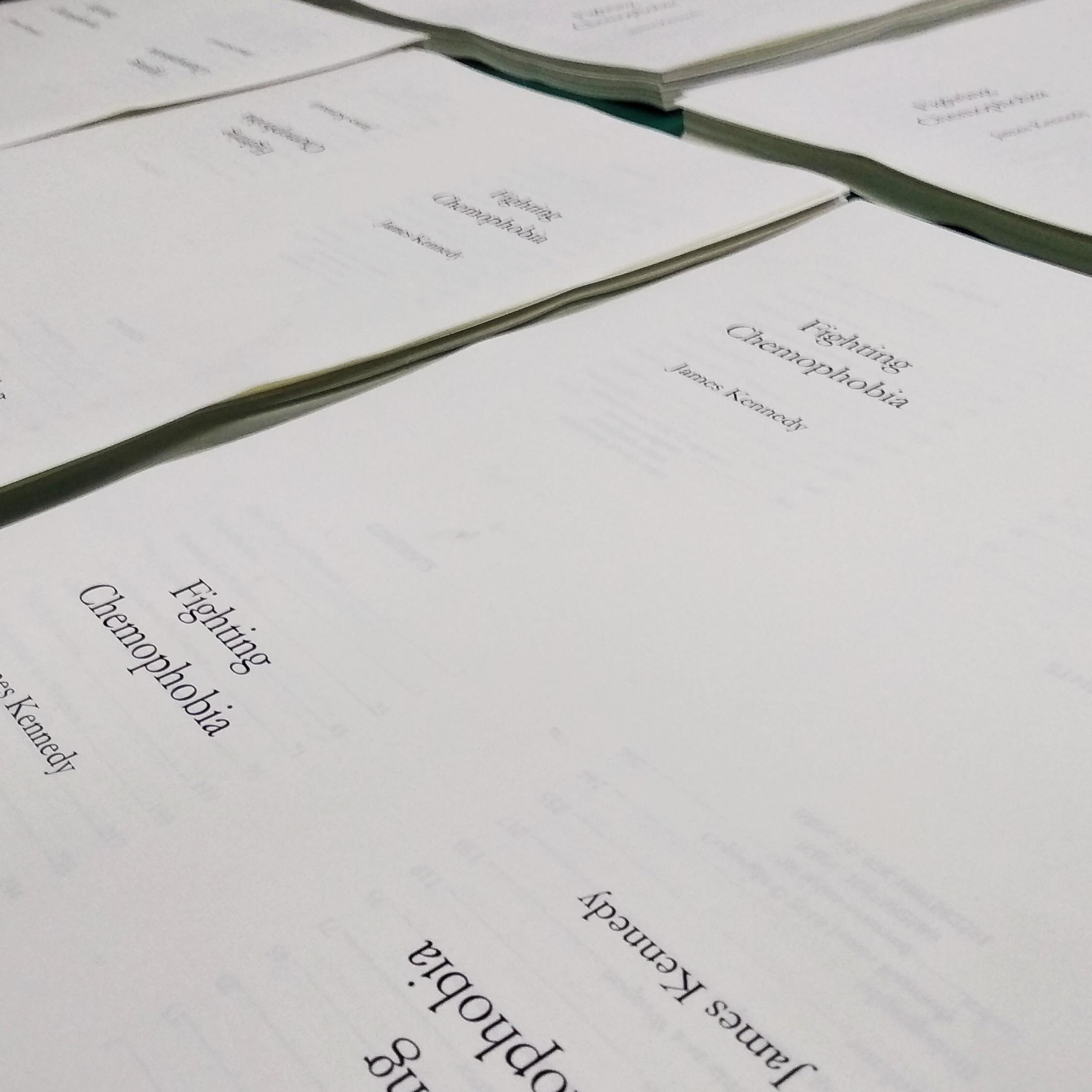 James Kennedy  Vce Chemistry Teacher In Melbourne Australia Fighting Chemophobia Printed Sheets